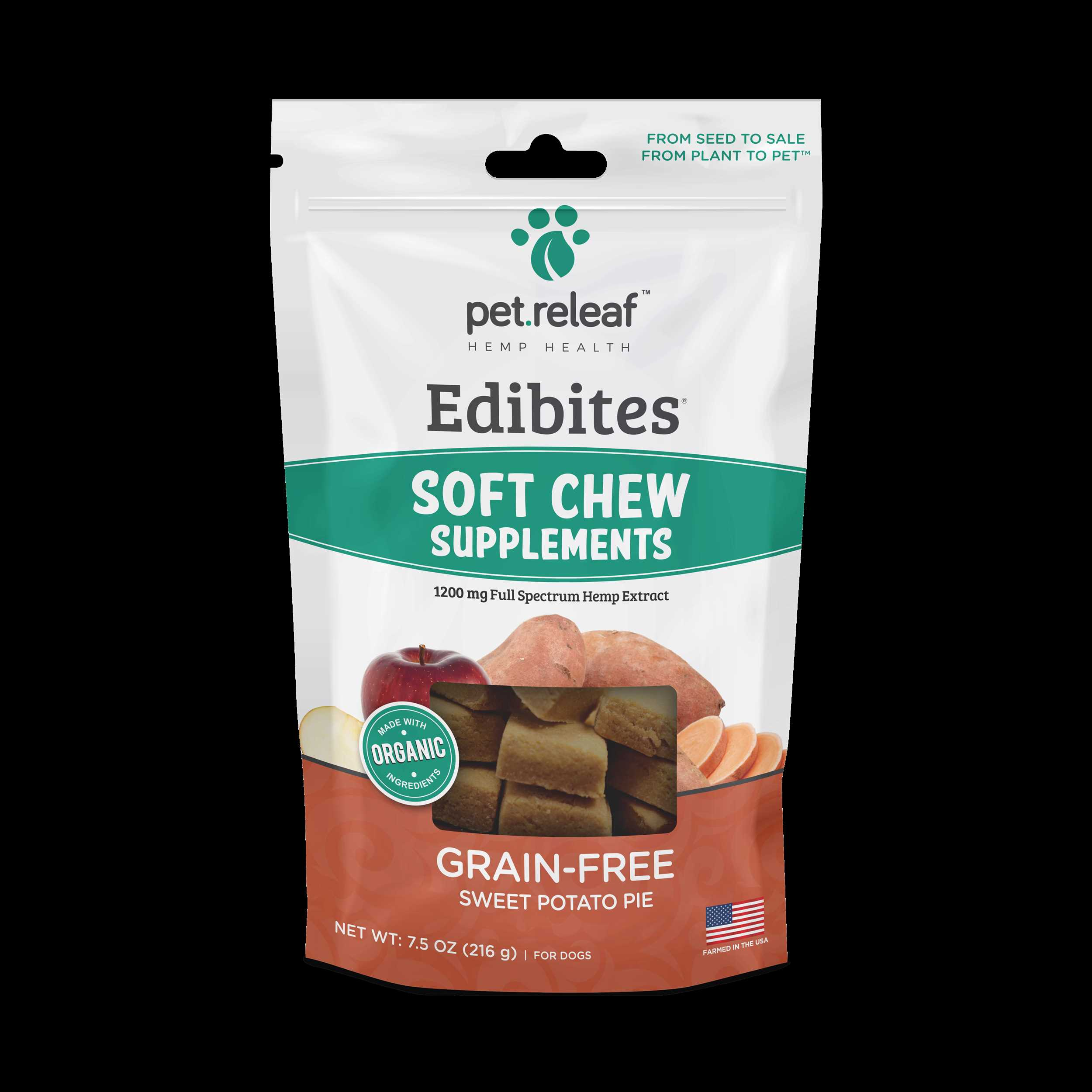Sweet Potato 1200mg CBD Soft Chews $25