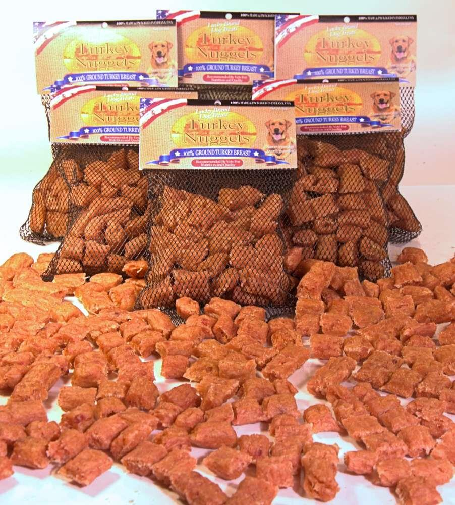Lucky Dog Turkey Nuggets