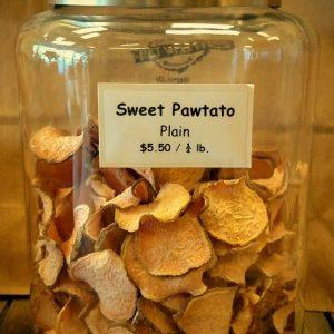 4 oz. Sweet Pawtato Chip Treats